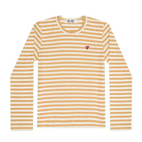 Striped Sleeved T Shirt play colour series striped sleeved t