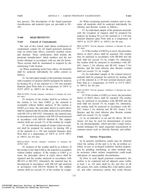 Asme v 2001 article 6