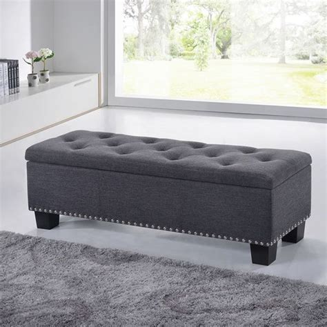 modern storage ottoman 1000 ideas about modern ottoman on leather