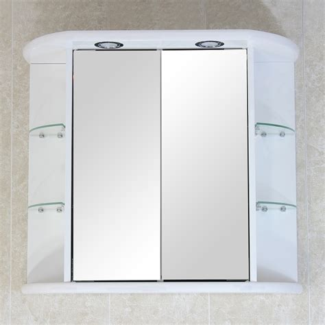 bathroom wall mirror cabinet interior jacuzzi tub shower combination grey bathroom