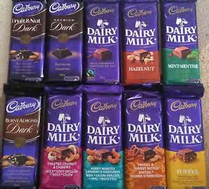 cadbury dairy milk king size canadian chocolate bars many