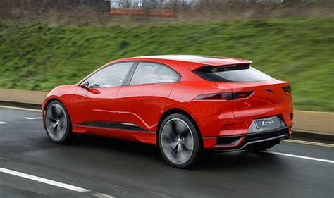 All Electric Tesla Jaguar I Pace All Electric Tesla Model X Rival Spotted