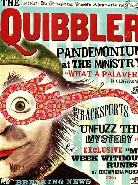 printable quibbler harry potter dumbledore s army hogwarts