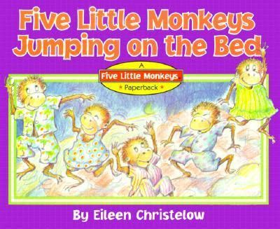 five little monkeys jumping on the bed book five little monkeys jumping on the bed book cassette with book by eileen
