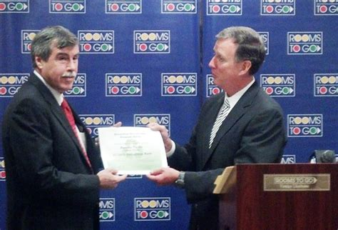steve buckley rooms to go dep recognizes rooms to go for outstanding recycling efforts
