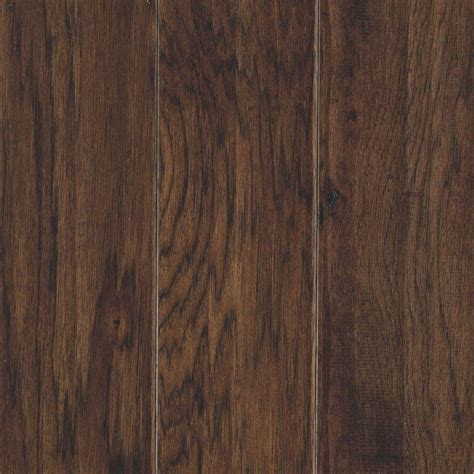 Mohawk Engineered Hardwood Flooring Mohawk Take Home Sle Hillsborough Hickory Mocha Engineered Hardwood Flooring 5 In X 7 In