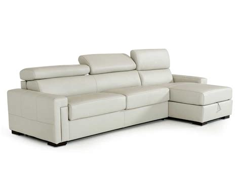 Leather Sofa Sleeper Sectional Leather Sectional Sofa With Sleeper Vg360 Leather Sectionals