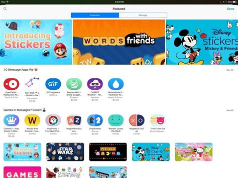app store apple launches messages app store ahead of ios 10 s release