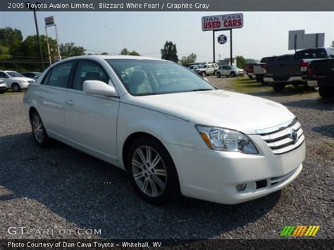 2005 Toyota Avalon Limited Blizzard White Pearl 2005 Toyota Avalon Limited