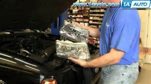 how to install replace headlight ford ranger 01 10 1aauto