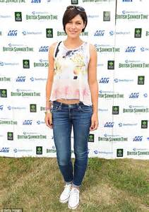 Emma Willis wears summery floral top to see McBusted at