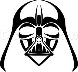 how to draw tribal darth vader step by step tribal art