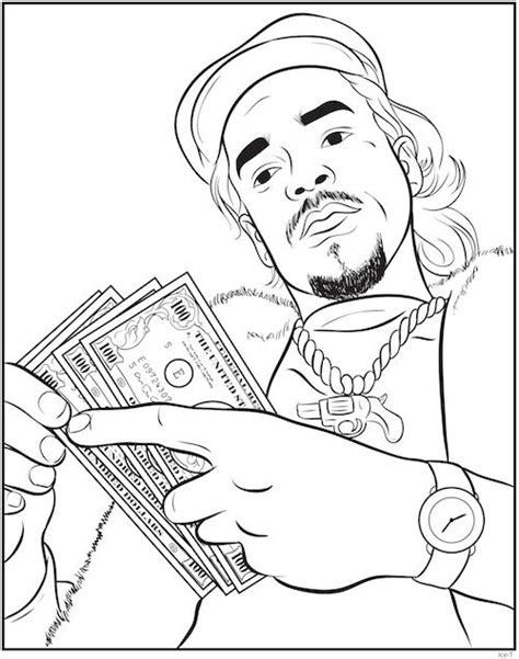 bun b coloring book rap coloring book an with creators bun b shea