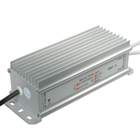 Trafo Led 10 A Emico Jaring Power Supply 10 A Indoor Ac Dc 220v 12v 12v led trafo power supply transformer mini flat dc ac ip65 10w 100w power ebay