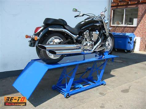 Motorrad Mit 4 Rädern Gebraucht by Xxxl Motorradhebeb 252 Hne Motorradlifter Ist Auch F 252 R