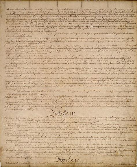 sections of constitution the history place american revolution constitution of