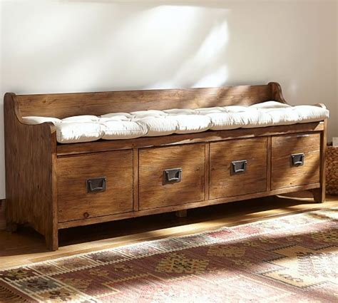 entryway bench pottery barn bench cushions benches and cushions on pinterest