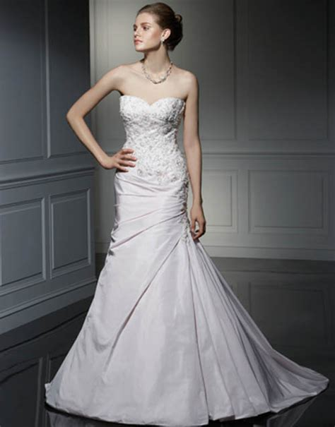 wedding inspiration strapless wedding dresses