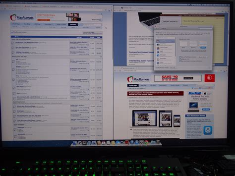 Hp Mba by Mba 11 Quot With Hp Zr30w 2560x1600 Resolution Macrumors