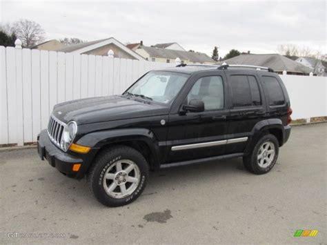 Black Jeep Liberty 2006 Black Jeep Liberty Limited 4x4 61702569 Gtcarlot
