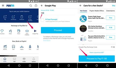 Play Store Recharge Recharge Your Play Store Account Using Paytm