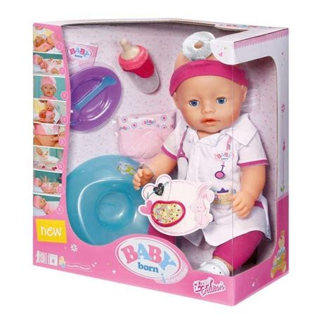 Doctor Set With Doll by Baby Born Interactive Doctor Doll Set