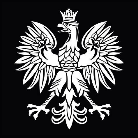white polish eagle symbol emblem coat of arms orzeł godło