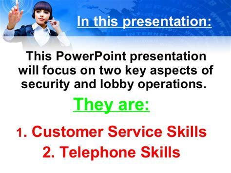 impressions customer service skills april 2013