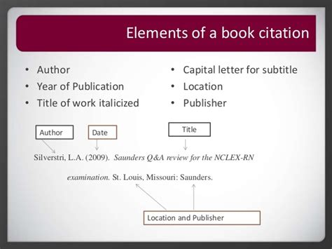 apa reference book edition and page numbers roseman library apa citation reference page