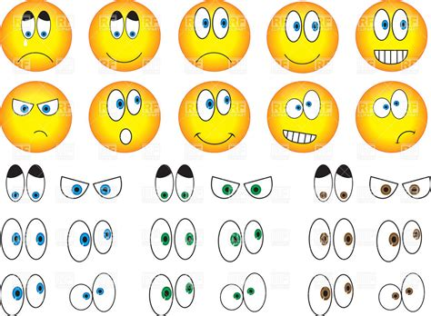 clipart emotions smiley eyes emotions royalty free vector clip art image