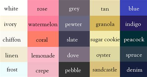 100 unusual color names i renamed some of the paint colors writer creates color thesaurus to help you correctly