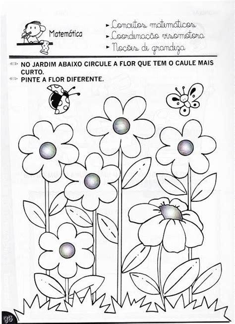 vou decorar em ingles atividades pr 233 escolar primavera 8 fichas e atividades