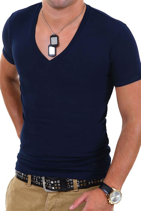 Tshrit Basic Slim Grey Navy White Maroon g b d mens basic v neck t shirt slim fit white black gray blue navy new ebay