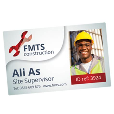 construction id card template staff id cards id badges photo id cards