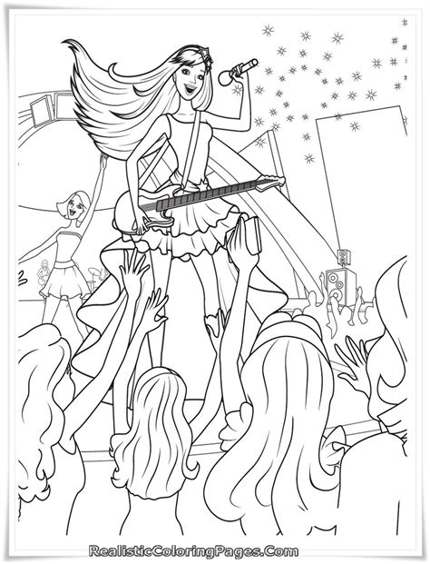 realistic princess coloring pages barbie and 12 dancing princesses coloring pages