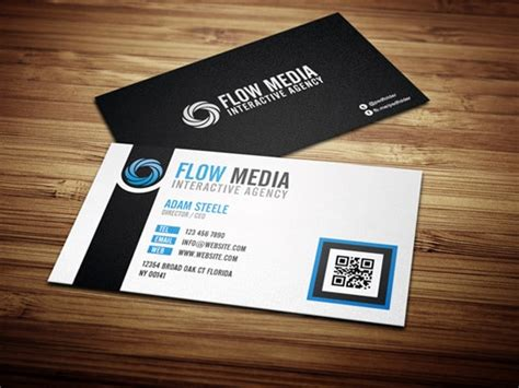 interactive business card template 100 free business card templates designrfix