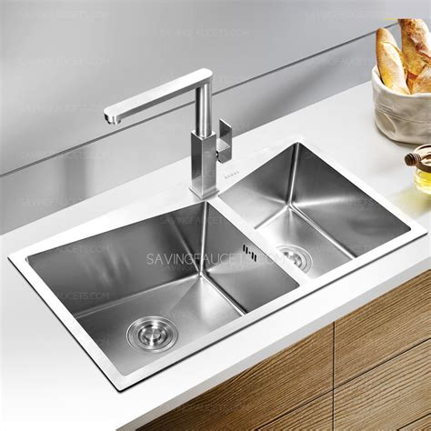 Handcraft Kitchen - thick stainless steel handcraft kitchen sinks without