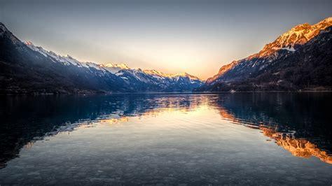 1920x1080 4k wallpaper wallpaper lake brienz interlaken lake switzerland