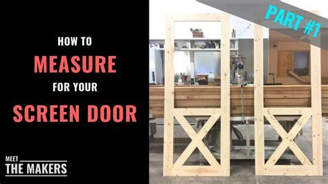 part    measure screen door size superior screen