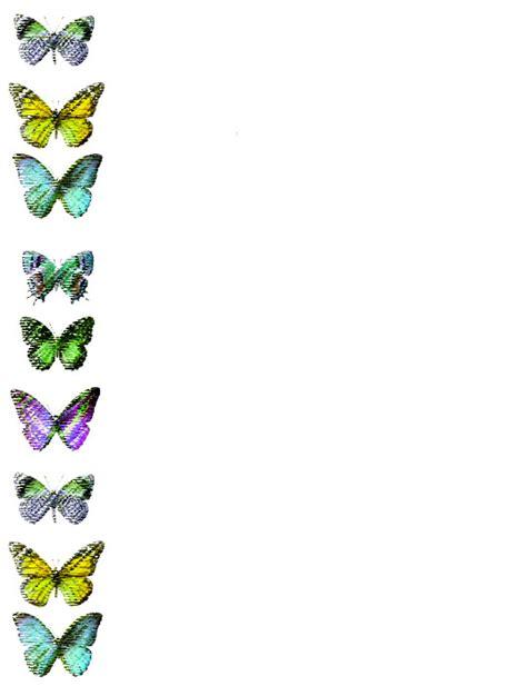 mariposa en word bordes para word de mariposas imagui