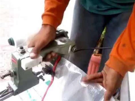 Mesin Jahit Make Up Kemeja cara menjahit menggunakan mesin jahit karung