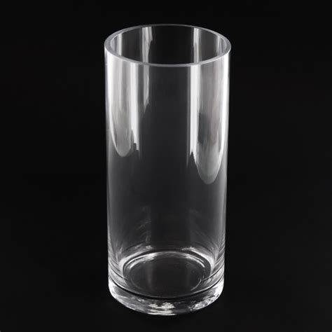 4 Inch Cylinder Vase 4 5x10 inch cylinder glass vase glass container