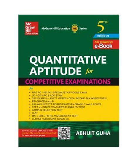 tutorialspoint quantitative aptitude pdf quantitative aptitude for competitive examinations