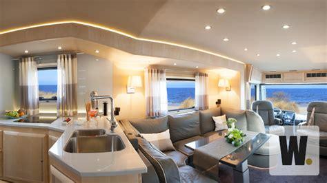 Lu Sein Mobil Caravan Salon 2014 Die Top Luxuswohnmobile