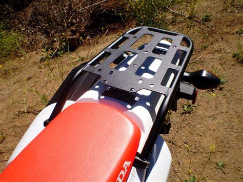 Crf250l Rack crf 250l 250m rear luggage rack honda crf250l 2012 present