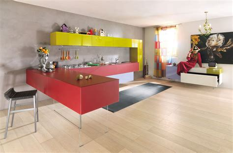 Colorful Kitchen Ideas Kitchen Designs With Colorful Kitchen Cabinet Combinations Digsdigs