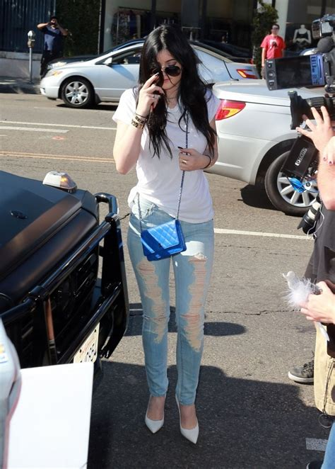 Kyle Heels Coffee jenner in citizens of humanity