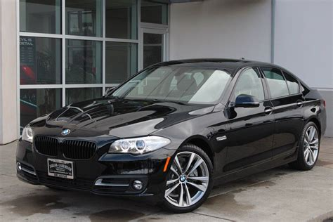 bmw pre owned pre owned 2016 bmw 5 series 528i 4dr car in bellevue 8140