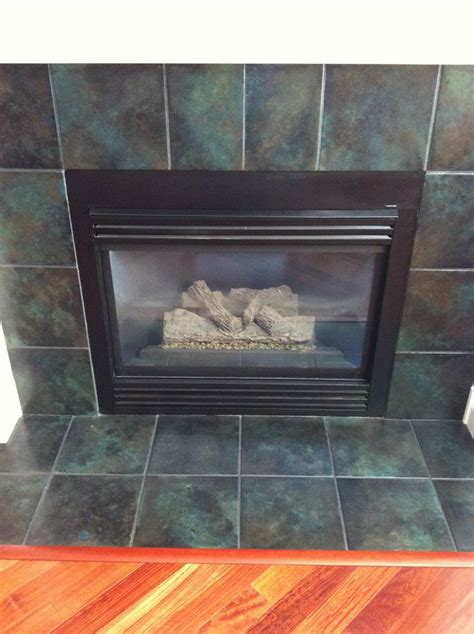 Fireplace Insert Tiles by 25 Best Images About Fireplace Redo On Mantels