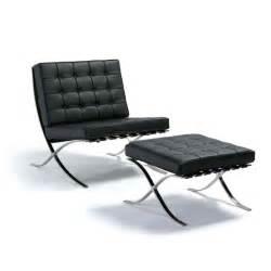 Barcelona chair amp ottoman buy classic barcelona chair replica